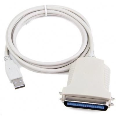 GEMBIRD Kabel adaptér USB - paralelní port 1,8m (USB AM/Centronics 36M, redukce)