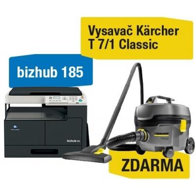 Minolta kopírka bizhub 185 (A3,16 ppm,USB2.0,GDI) + Kärcher Vysavač T 7/1 Classic