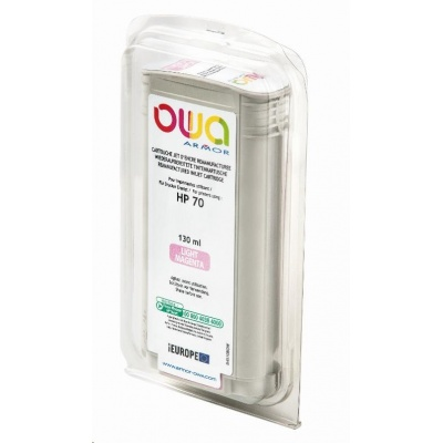 OWA Armor cartridge pro HP DesignJet Z 2100, 3100, 130ml, C9455A, light Magenta