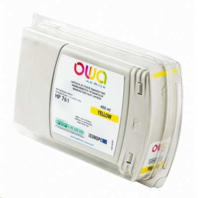 OWA Armor cartridge pro HP DesignJet T 7100, 400ml, CM992A, Yellow
