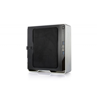 IN WIN skříň CHOPIN BQ696 MINI ITX CHASSIS SILVER RETAIL, 150W