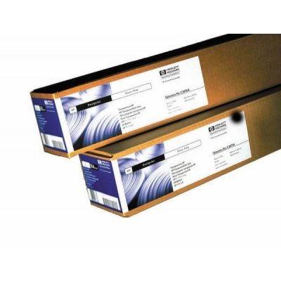 HP Clear Film-914 mm x 22.9 m (36 in x 75 ft),  5.2 mil,  174 g/m2, C3875A