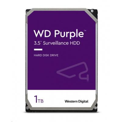 WD PURPLE WD10PURZ 1TB SATA/600 64MB cache, Low Noise, CMR