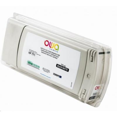 OWA Armor cartridge pro HP DesignJet Z 6200, 6600, 6800, 775ml, B6Y07A, Black Mat
