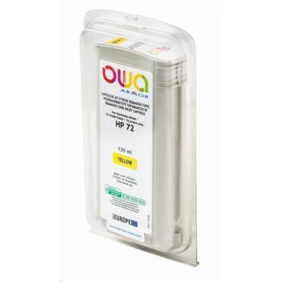 OWA Armor cartridge pro HP DesignJet T 610, 620, 130ml, C9373A, Yellow