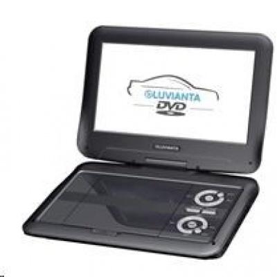 """Luvianta DVD přenosný přehrávač s DVB-T2 DVDP-L918, 9"""" TFT LCD monitor, - bazar poškozený obal"""