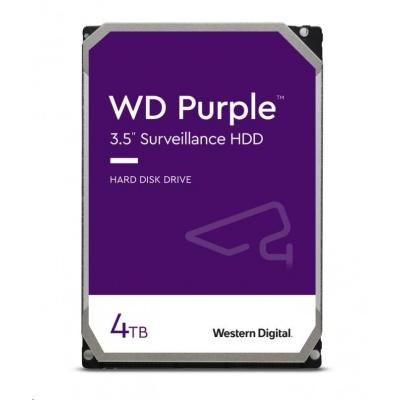 WD PURPLE WD40PURZ 4TB SATA/600 64MB cache, Low Noise, CMR