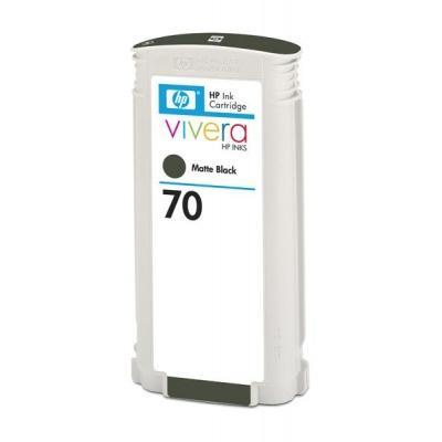 HP 70 Black matte DJ Ink Cart, 130 ml, C9448A