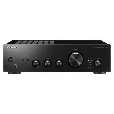 Integrovaný stereo zesilovač-černá-A-10AE-B