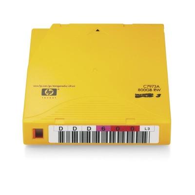 HP LTO-3 Ultrium 800 GB Non-Custom Label, 20-pack, C7973AN
