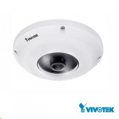 Vivotek FE9381-EHV, 3.6Mpix,30sn/s,H.265, obj.1.47mm(360°),DI/DO,audio,PoE,IR-Cut,WDR,defog,SDXC,EN50155,antivandal,IP66