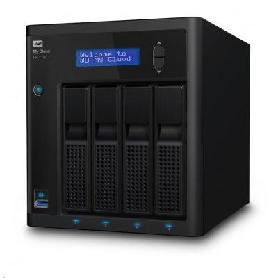 """WD My CLOUD PR 4100, 24 TB (4x6TB) 3,5"""", RJ45, NAS"""