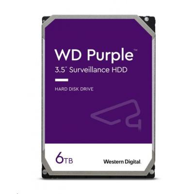 WD PURPLE WD60PURZ 6TB SATA/600 64MB cache, Low Noise