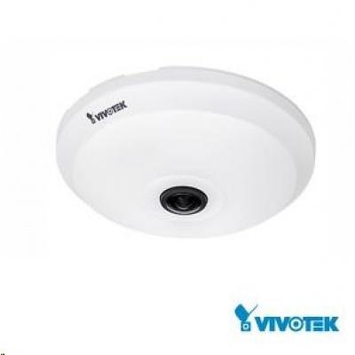 Vivotek FE9181-H, 3.6Mpix,30sn/s, H.265,obj. 1.47mm (360°), DI/DO,audio,PoE,IR-Cut,WDR,defog, SDXC, 3DNR, vnitřní