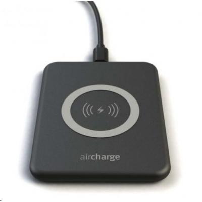 Aircharge Cestovní QI bezdrátová nabíjecí podložka - černá